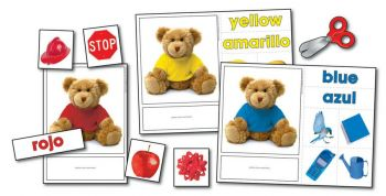 Colour Bears Photographic Learning Cards KE845000