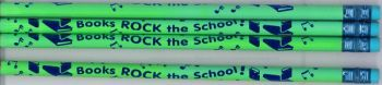 Books Rock the School Pencil