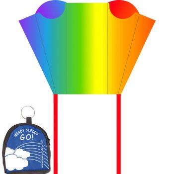 Pocket Sled- Rainbow Stripes