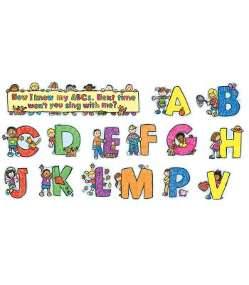 Alphabet Kids Mini Bulletin Board Set CD110069