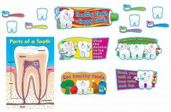 Healthy Teeth Mini Bulletin Board Set CD110090