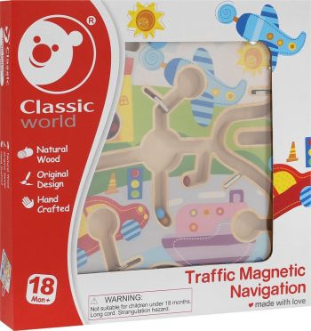 Magnetic Maze - Town Set