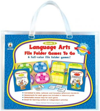 Language Arts - File Folder Games To Go - CD140023 (Year 4)