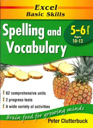 Excel Basic Skills: Spelling and Vocabulary - Ages 10-12