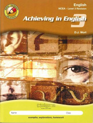Achieving in English NCEA Level 3
