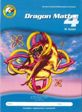 Dragon Maths 4 Workbook