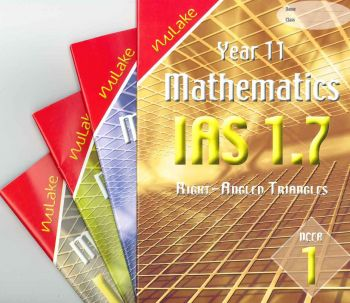 Nu Lake Year 11 NCEA Level 1 Mathematics Assessment Booklets