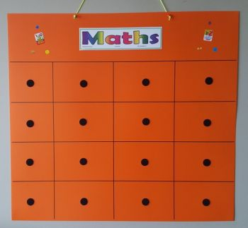Maths Taskboard with Activity Cards