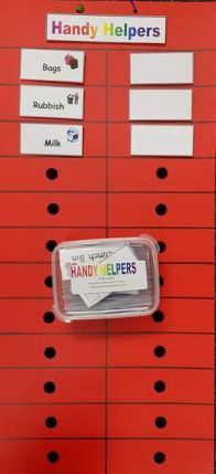 Handy Helpers Taskboard and Cards
