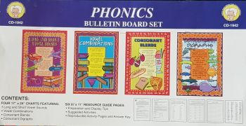 Phonics Bulletin Board Set CD1942