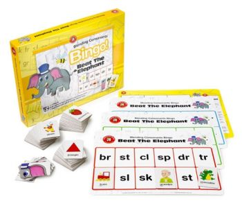 Beat the Elephant - Blending Consonants Bingo