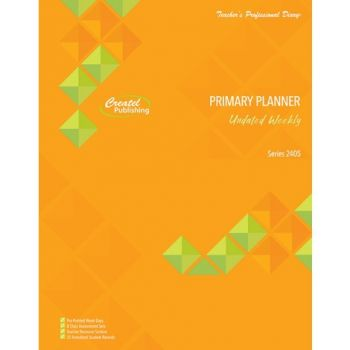 2021 Undated Primary Weekly Planner (Wiro)- TPD2405