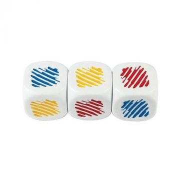 6 sided Dice - Colours