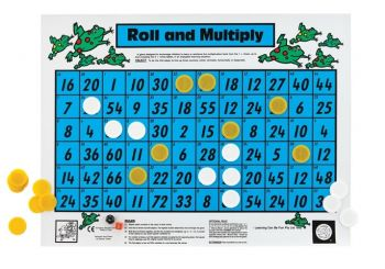 Roll and Multiply Floor Game - GA192
