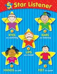 5 Star Listener Chart CTP4337