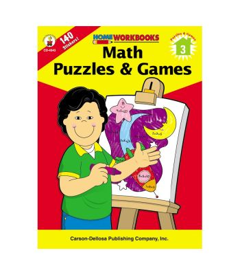 Home Workbook: Maths Puzzles and Games (G3) CD4543