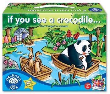 Orchard Toys: If You See A Crocodile Game... Don't forget to scream!