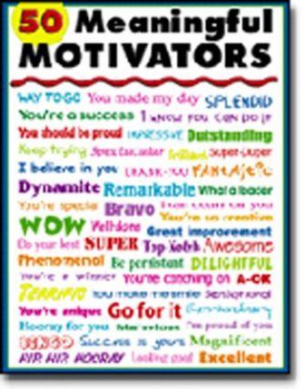 50 Meaningful Motivators Chart CD6331