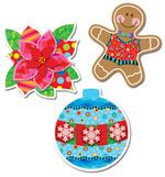 Jumbo Designer Cut-Outs- Holiday Cheer CTP5945