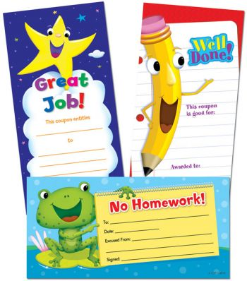 Classroom Management Incentive Coupons CTP5949