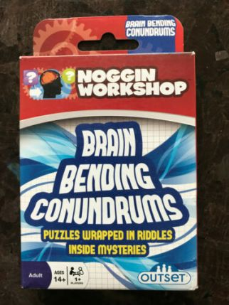 Brain Bending Conundrums - Puzzles Wrapped in Riddles Inside Mysteries