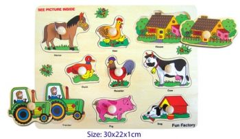 Horse Jigsaw Puzzle with knobs