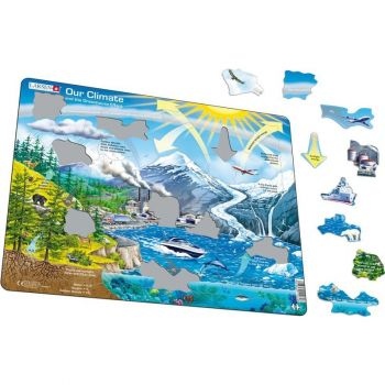 Our Climate and the Greenhouse Effect Tray Puzzle (69pc)