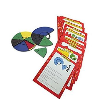 Fraction Work Cards - MA059