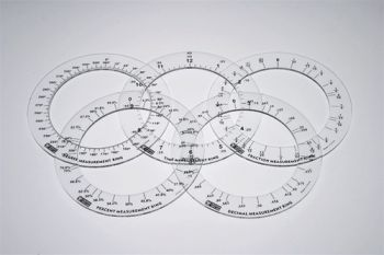 Fraction Measurement Rings (set of 5) - MA501