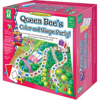 Queen Bee's Colour and Shape Party! Game