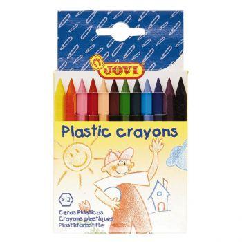 Jovi Plastic Crayons- Pack of 12