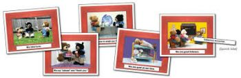 Manners Photographic Learning Cards KE845002