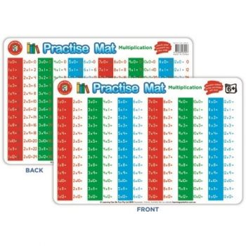 Practise Mat: Multiplication - Write and Wipe Double Sided