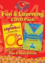 Love To Sing: Alphabet and Times Tables 2 DVDs