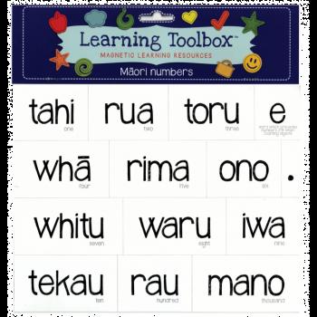 Magnetic Maori Numbers 1-10