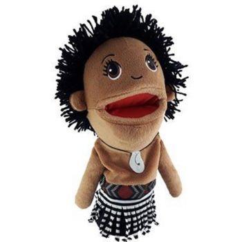 Maori Boy Hand Puppet (30cm tall)