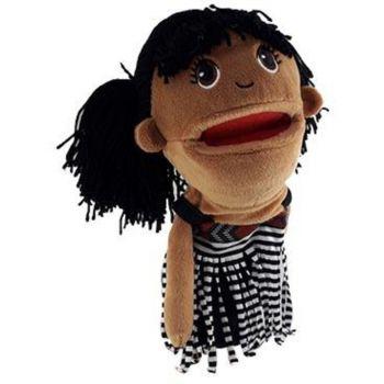 Maori Girl Hand Puppet (30cm tall)