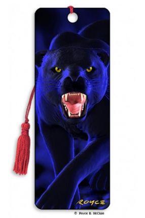 3D Bookmark Panther
