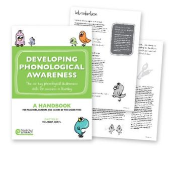 Developing Phonological Awareness Handbook