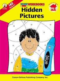 Home Workbook: Hidden Pictures (PK-1) CD4504