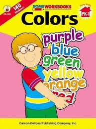 Home Workbook: Colours (PK-Gr1) CD4508