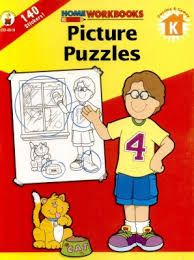 Home Workbook: Picture Puzzles (K) CD4518