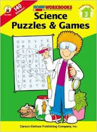 Home Workbook: Science Puzzles and Games (G3) CD4544