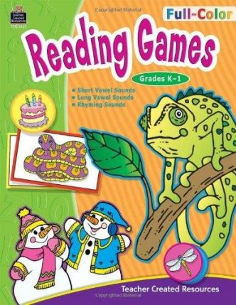 Reading Games for Years 1-2 - TCR3121