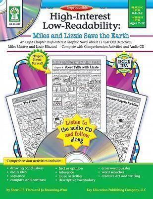 Miles and Lizzie Save the Earth with Comprehension Activities and Audio CD