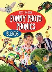 Funny Photo Phonics: Set 2 Blends - Big Book 1320