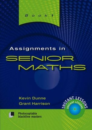 Assignments in Senior Maths - Book 1 8040