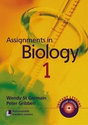 Assignments in Biology - Book 1 9050
