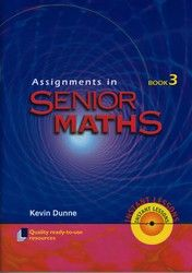 Assignments in Senior Maths - Book 3 8042