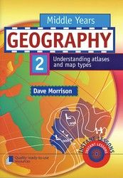 Middle Years Geography Book 2 - Understanding atlases and map types 9320